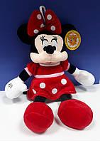 Мягкая игрушка Минни Маус Сонечко 31 см в красном платье с петелькой