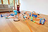 Двойная петля Трек Хот Вилс Hot Wheels MULTI LOOP BOX Track Builder FLK90 Оригинал, фото 6