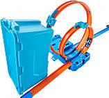 Двойная петля Трек Хот Вилс Hot Wheels MULTI LOOP BOX Track Builder FLK90 Оригинал, фото 3