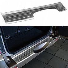 Захисна накладка на задній бампер для Suzuki Grand Vitara 2006-2018 /нерж.сталь/