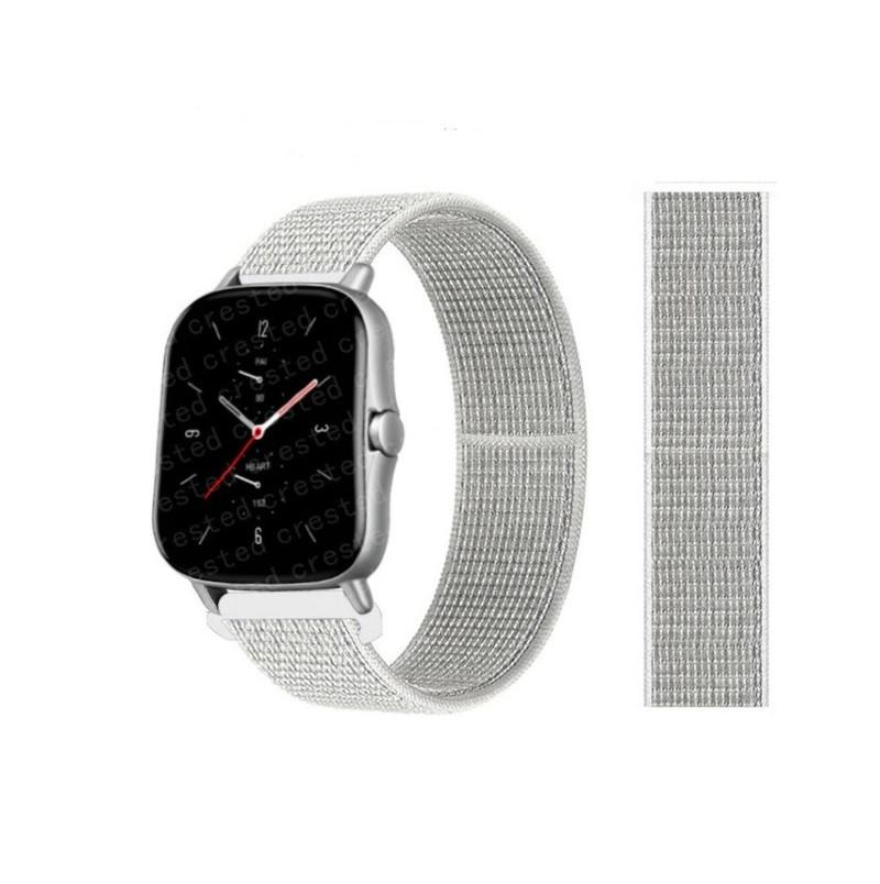 Ремінець для годинника Nylon loop bracelet Універсальний, 20 мм. Summit white