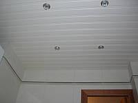 Потолки подвесные реечные в Киеве