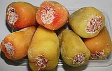 Перец фаршированный овощами по 5кг. в ящике