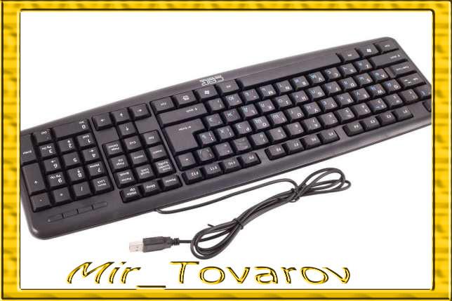 Дротова клавіатура USB, KB-107, 107 кнопок офісна, черн