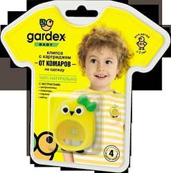Кліпса з картриджем від комарів на одяг Gardex Baby