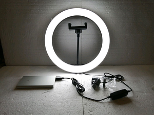 Кольцевая лампа для телефона 26 см