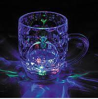 Кружка з підсвічуванням color cup склянку чашка з LED підсвічуванням