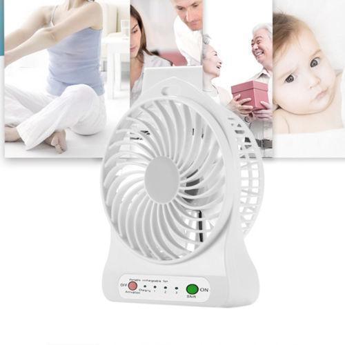 Міні вентилятор xsfs-01 працює від акумулятора 18650 або від USB живлення