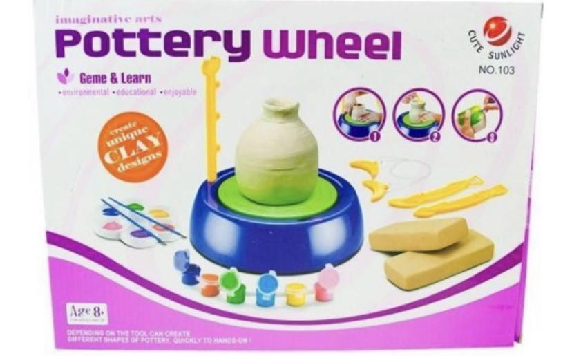 Гончарный круг - набор для творчества Pottery Wheel