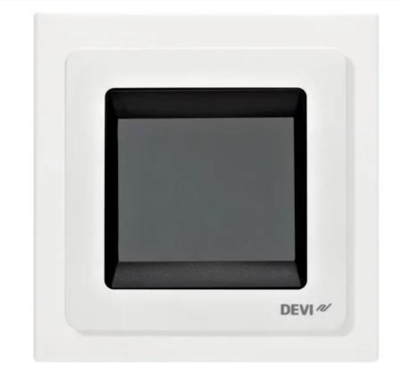 Багатофункціональний програмований Терморегулятор сенсорний датчик для теплої підлоги DEVIreg Touch