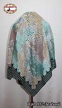 Женский зелёный платок Симфония, фото 2