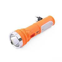 Аккумуляторный фонарик YAJIA 230, направленный + рассеянный свет