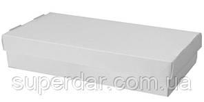 Упаковка для суші та інших страв, 200х300х50 мм, біла