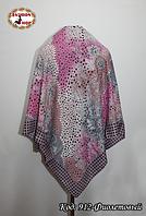 Женский фиолетовый платок Симфония