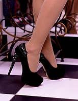 Туфли premium Elle Black 36р.