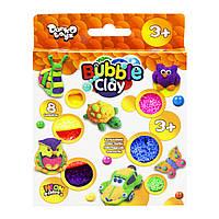 Кульковий пластилін 'Bubble Clay' 8 кольорів укр (BBC-04-01U)