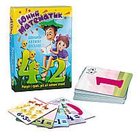 Учебные карточки 'Юный математик' (укр) Strateg (30760)