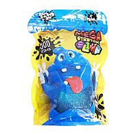 Слайм 'Mega Stretch Slime' 500 г укр синій Dankotoys (SLM-12-01U)
