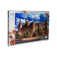 Пазлы 'Шверинский замок, Германия', C500-11-01, 500 элементов Dankotoys (C500-11-01,02)