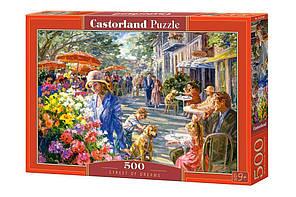 Пазлы 'Улица мечты', 500 элементов Castorland (B-53438)