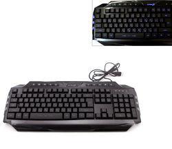 Клавиатура HI-RALI HI-KB08 Black USB lihgting & gaming