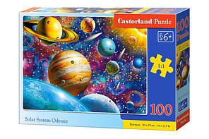 Пазлы 'Солнечная система', 100 элементов Castorland (B-111077)