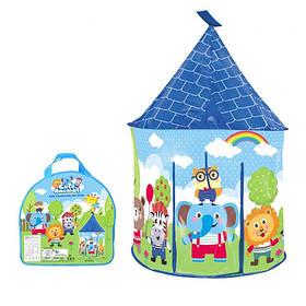 Палатка MR 0353 (12шт) домик,90-90-в135см,на колышках,1вход на липучках,окно-сетка,в сумке,36-35-6см