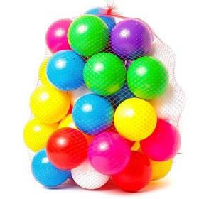 Кульки великі 40 шт тверді (діам 8,5 см) (37*36*36см) 026 Бамсик