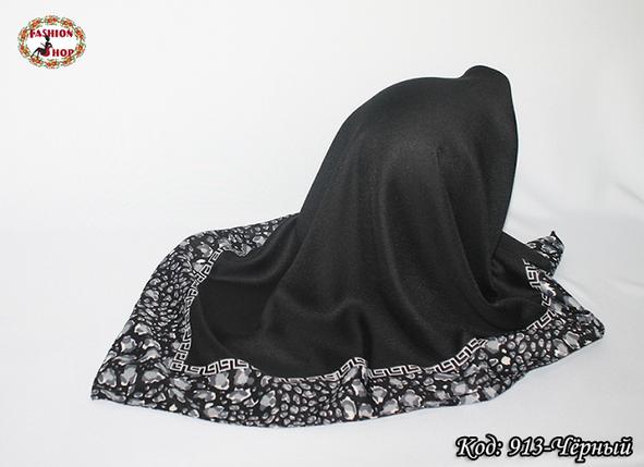Женский чёрный платок Эвридика, фото 2