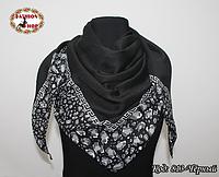 Женский чёрный платок Эвридика