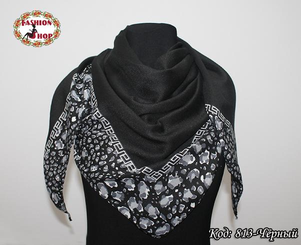 Жіночий чорний платок Еврідіка