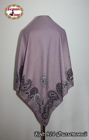 Женский фиолетовый платок Флавия