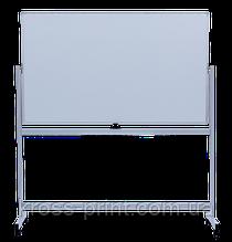 Фліпчарт магнітний сухостираемый, 90 х150 см, мобільний, горизонтальний