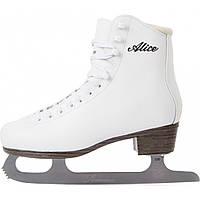 Коньки фигурные женские Nordway ALICE Figure ice skates белый (ALICE-W)