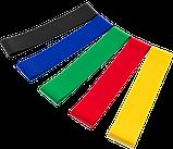 Набір фітнес гумок для фітнесу Esonstyle з 5 стрічок в зручному мішечку 5 штук! Хіт продажів, фото 3