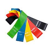 Резинка для фитнеса и спорта Esonstyle (эластичная лента) набор 5 шт + Чехол в комплекте, фото 3