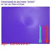 Доска пластилина,  3 стека,  фиолетовый