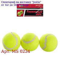 Тенісні м'ячі MS 0234 6см,  3шт в кульку,  11-24-6см