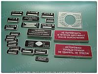 Идентификационные знаки, штрих-коды