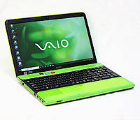 Sony VAIO зеленый VPCCB+Radeon элитный топовый ноутбук из Японии [уценка]