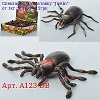 Комаха A123-DB павук,  11см,  24шт (2 види) в дисплеї,  30-23-7, 5см