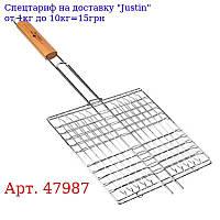 """Решітка-гриль """"Campin"""" міні плоска 55 * 27 * 24см 47987 / MH-0088"""