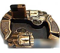 Пепельница с зажигалкой STAR Пистолеты