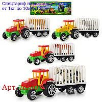 Трактор A 900 інер-й,  19, 5 см,  тварина,  4 види,  в кульку,  25, 5-16-6см