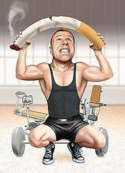 Жить здорово: Как влияет алкоголь и курение при занятиях спортом?
