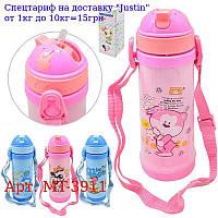 "Термос-поилка детский ""Mouse"" 420мл MT-3911"