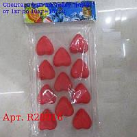"Форма для льда / шоколада / мастики ""Сердечки"" 21, 5 * 11см R28916"