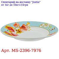 "Тарелка суповая эмаль 9 ""(22, 9см) 6шт / наб"" Орхидея голд ""MS-2396-7976 (6наб)"