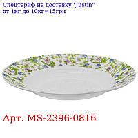 "Тарелка суповая эмаль 9 ""(22, 9см) 6шт / наб"" Прованс ""MS-2396-0816 (6наб)"