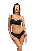 Модный раздельный женский купальник бандо Self S 736